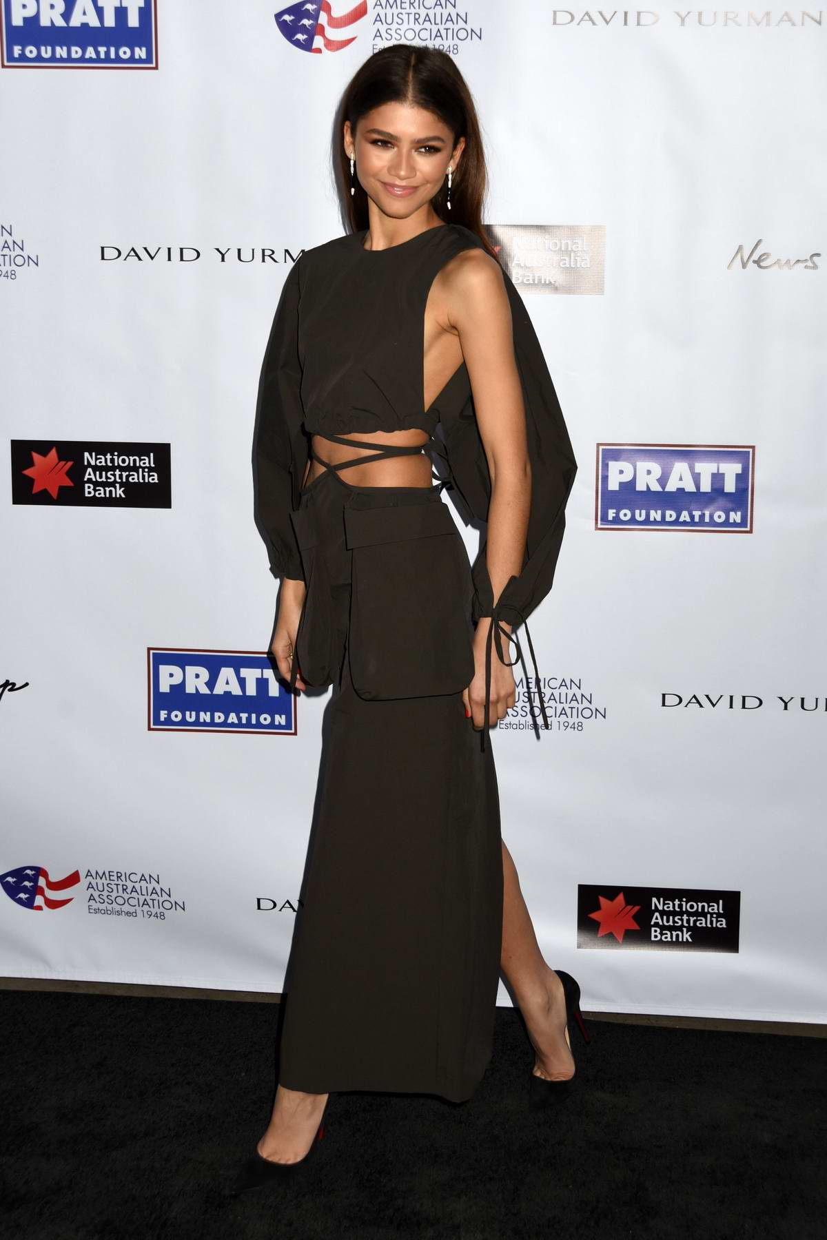 Zendaya Coleman attends the AAA Arts Awards Gala to support Australian Bushfire Relief at Skylight Modern in New York City