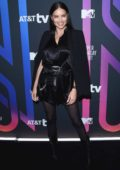 Adriana Lima attends the AT&T TV Super Saturday Night in Miami, Florida