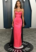 Alessandra Ambrosio attends the 2020 Vanity Fair Oscar Party at Wallis Annenberg Center for the Performing Arts in Los Angeles