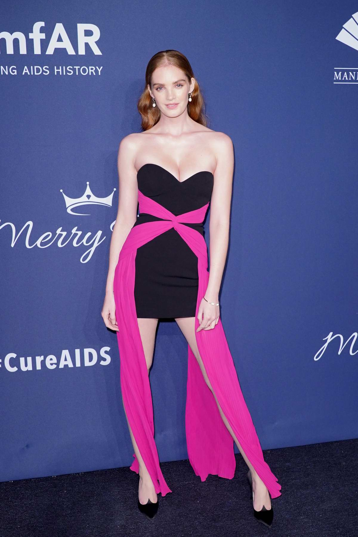 Alexina Graham attends the 22nd annual amfAR Gala Benefit for AIDS Research in New York City