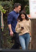 Ana de Armas and Ben Affleck spotted as they wrap up their new movie 'Deep Water' in New Orleans, Louisiana