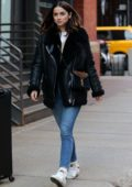 Ana de Armas is all smiles as she steps out for some shopping in SoHo, New York City