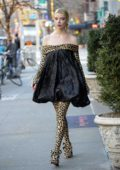 Anya Taylor-Joy looks stylish in a leopard print outfit while out promoting 'Emma' in New York City