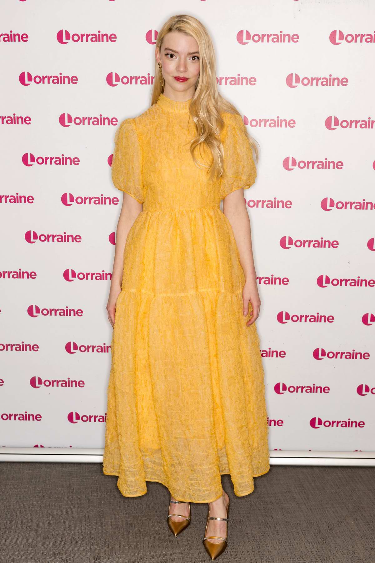 Anya Taylor-Joy promotes her new movie 'Emma' on 'Lorraine' TV show in London, UK