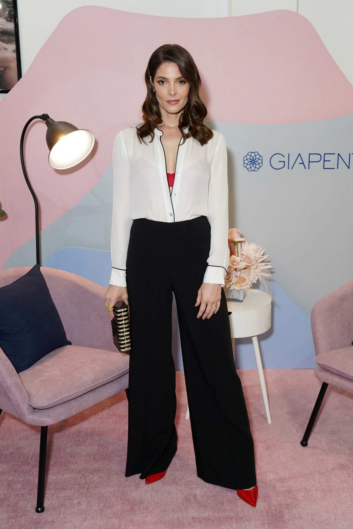 Ashley Greene at the GIAPENTA Wynwood Pop-Up Shop in Miami, Florida