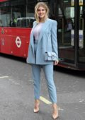 Ashley James attends Ashley Williams Show during London Fashion Week at The Strand in London, UK