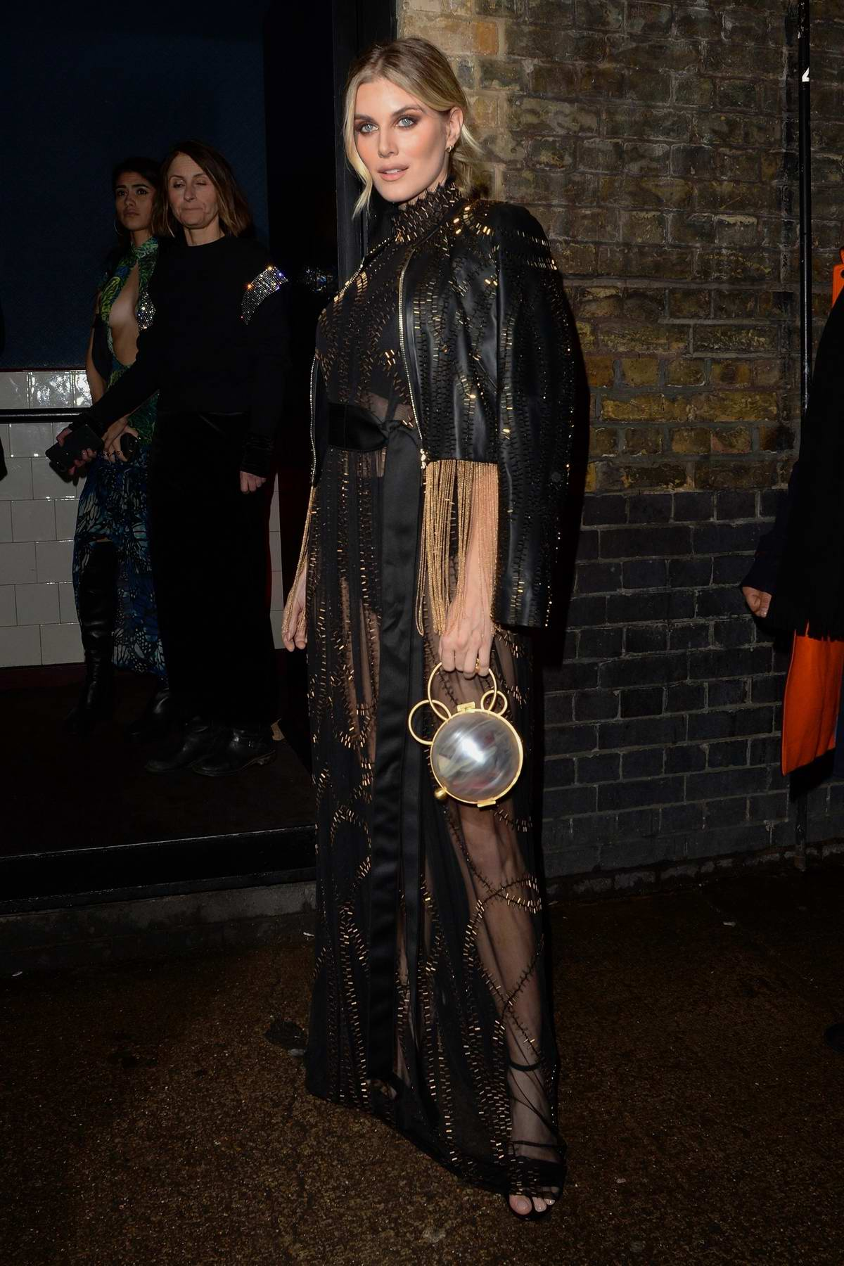 Ashley James attends the BRIT Awards 2020 after-party at Chiltern Firehouse in London, UK
