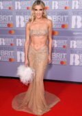 Ashley Roberts attends the BRIT Awards 2020 at The O2 Arena in London, UK