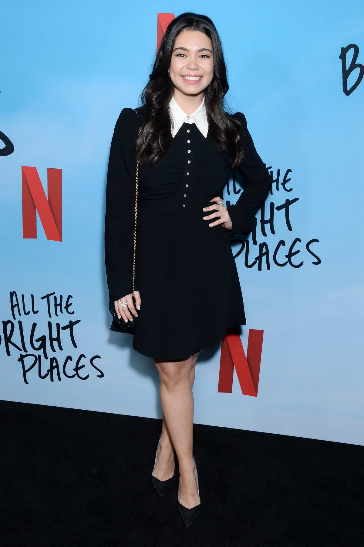 Auli'i Cravalho attends the Special Screening of Netflix's 'All The Bright Places' at ArcLight Hollywood in Hollywood, California