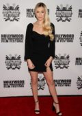 Ava Sambora attends the Premiere of 'A Dark Foe' in Los Angeles