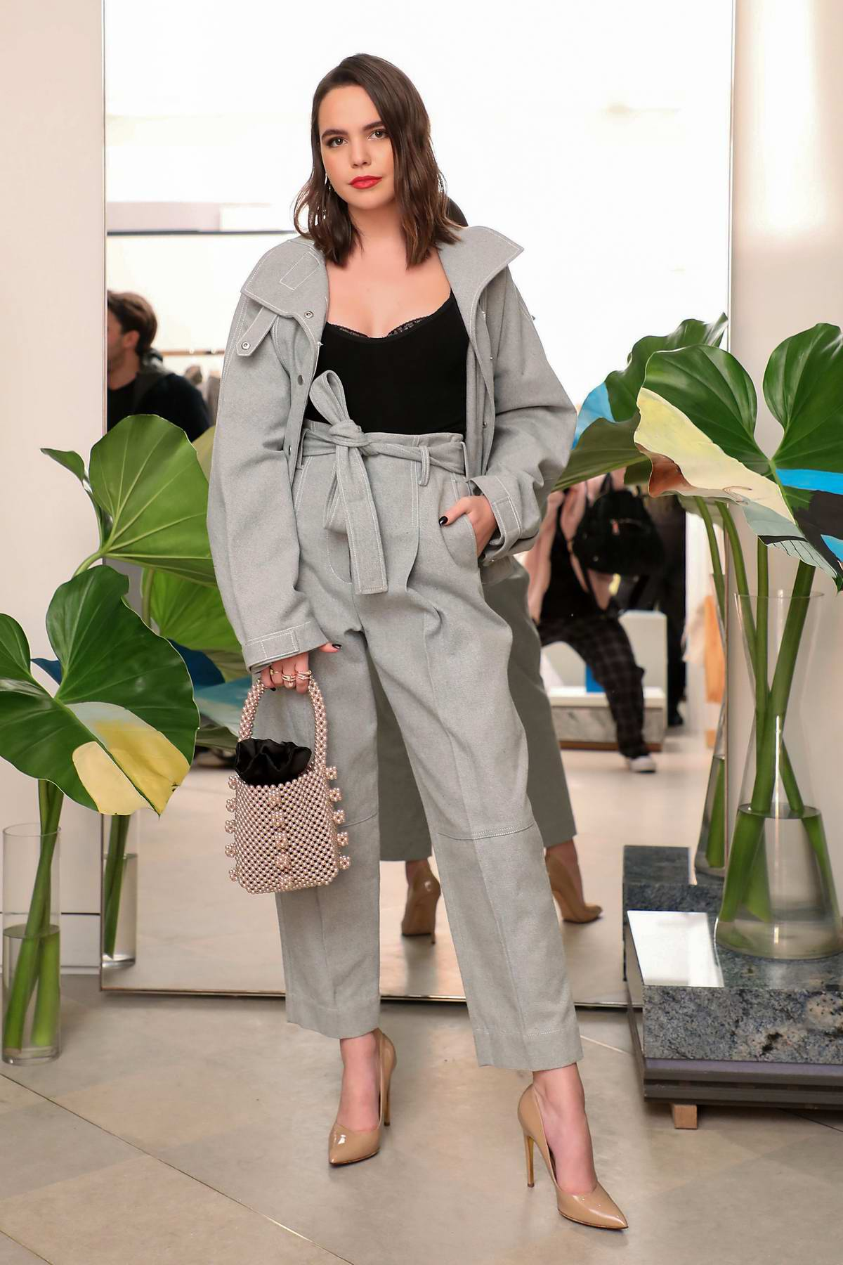 Bailee Madison attends the 3.1 Phillip Lim presentation, Fall/Winter 2020 during NYFW in New York City
