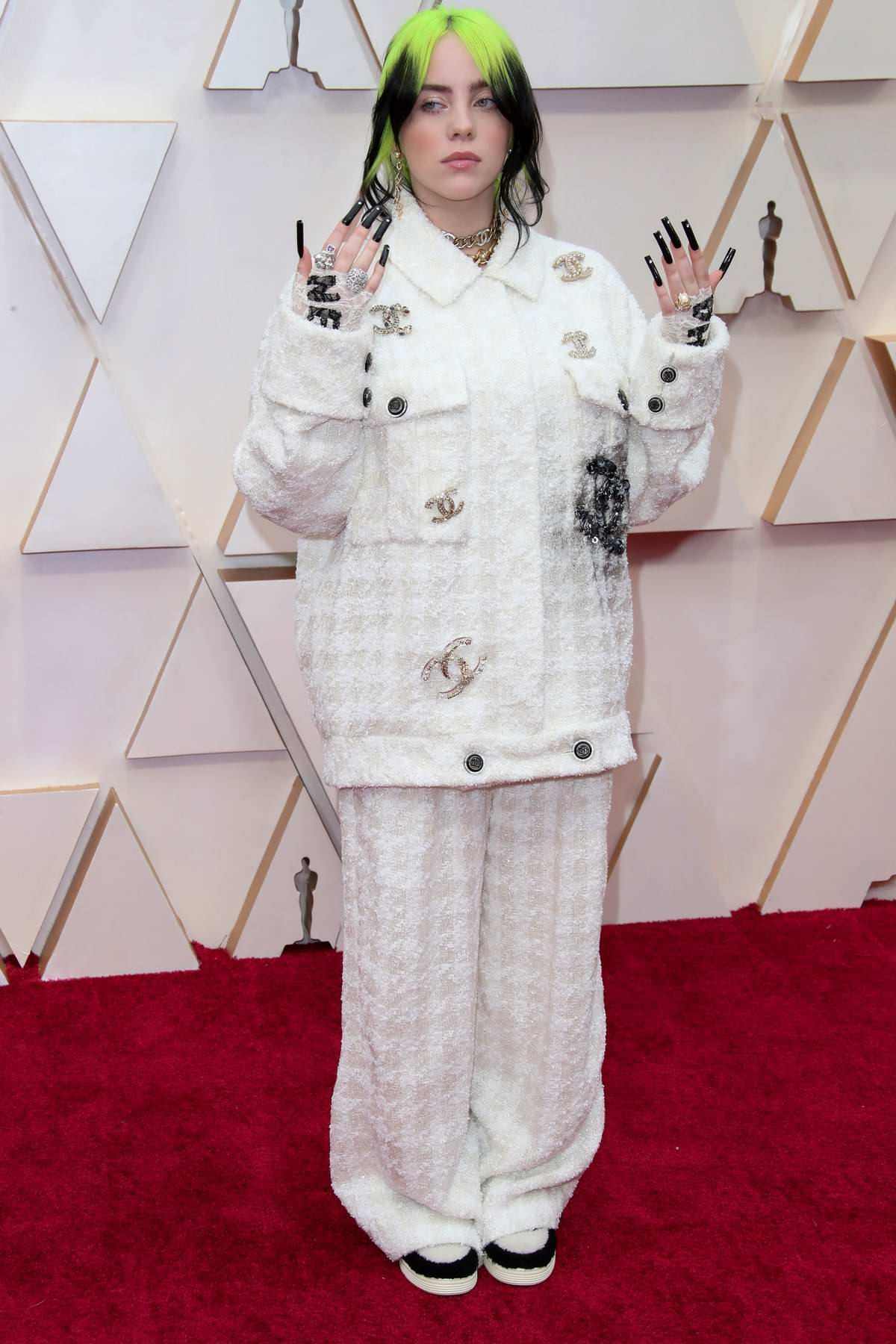 Billie Eilish attends the 92nd Annual Academy Awards at Dolby Theatre in Los Angeles