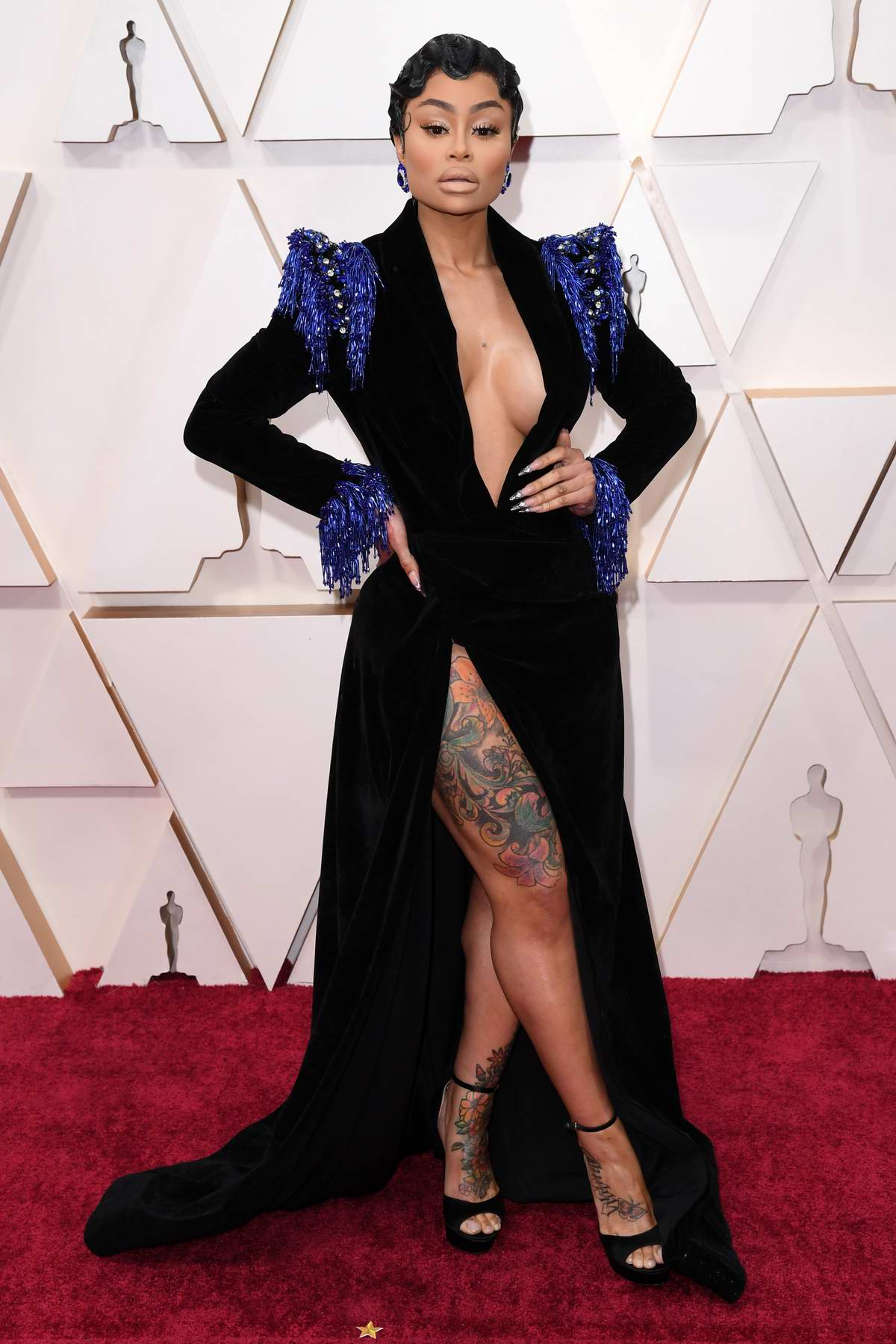 Blac Chyna attends the 92nd Annual Academy Awards at Dolby Theatre in Los Angeles
