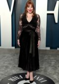 Bryce Dallas Howard attends the 2020 Vanity Fair Oscar Party at Wallis Annenberg Center for the Performing Arts in Los Angeles