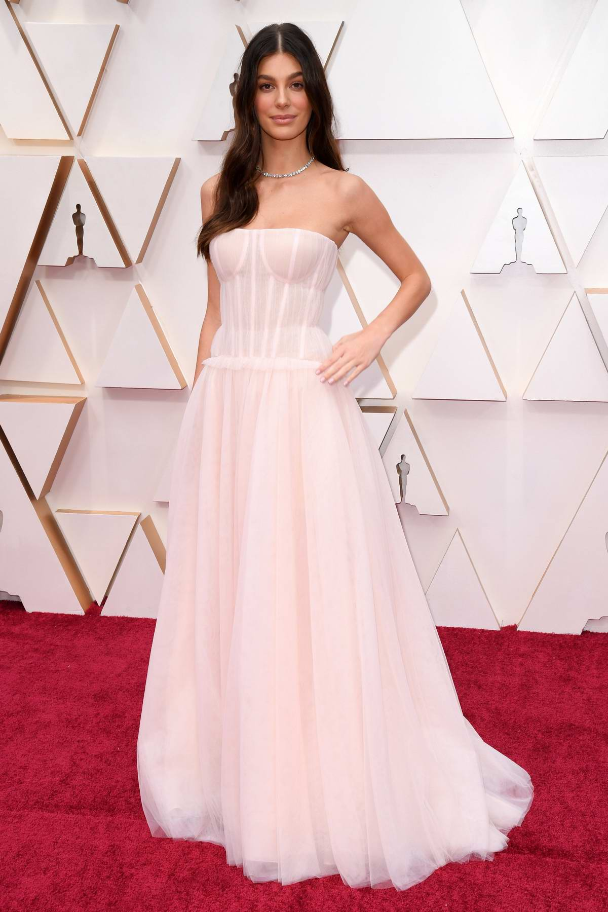 Camila Morrone attends the 92nd Annual Academy Awards at Dolby Theatre in Los Angeles