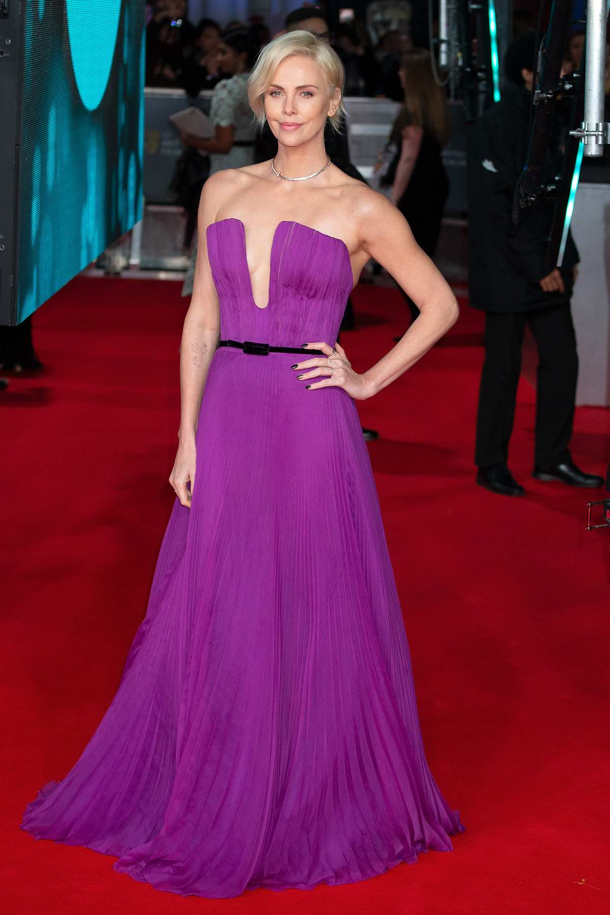 Charlize Theron attends the 73rd EE British Academy Film Awards at Royal Albert Hall in London, UK