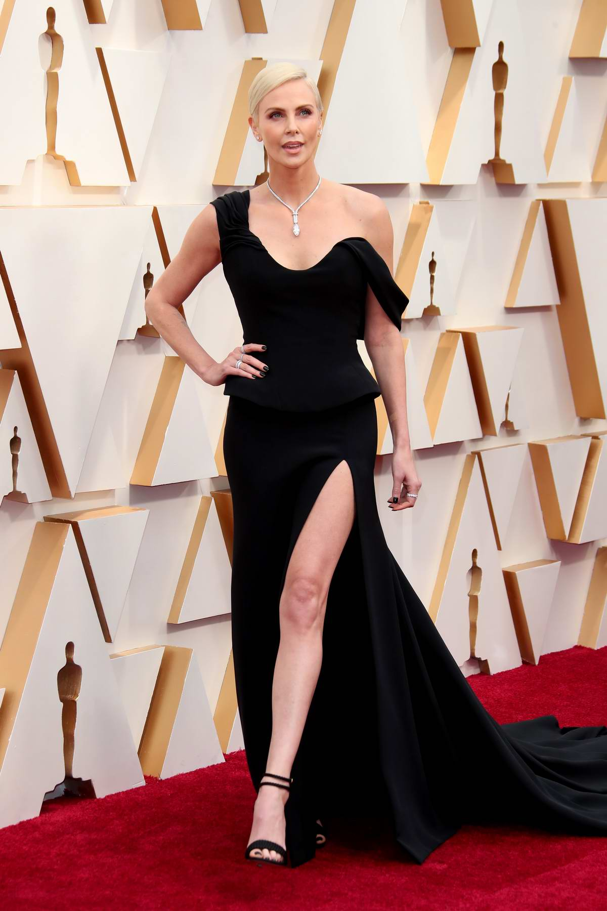 Charlize Theron attends the 92nd Annual Academy Awards at Dolby Theatre in Los Angeles