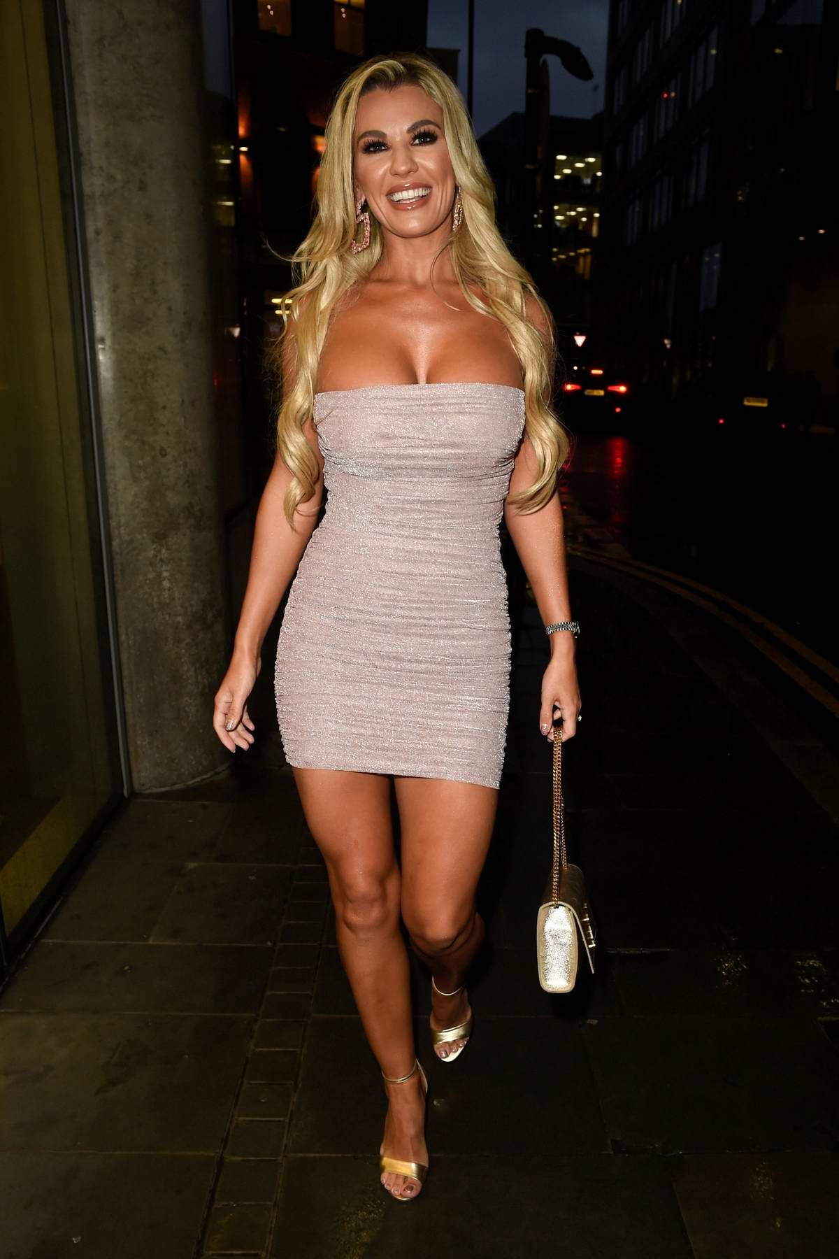 Christine McGuinness joins 'Real Housewives Of Cheshire' filming in Manchester, UK