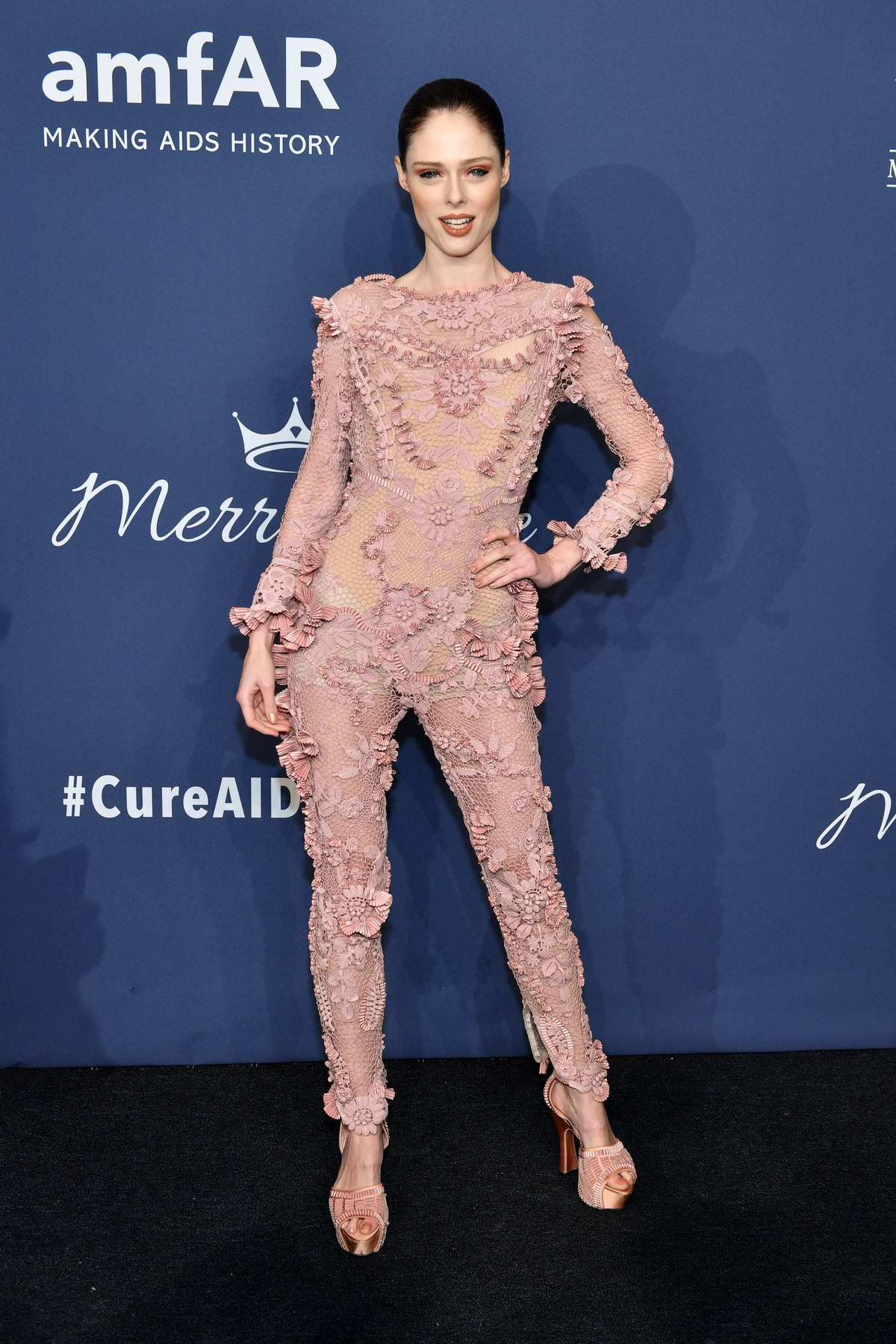Coco Rocha attends the 22nd annual amfAR Gala Benefit for AIDS Research in New York City