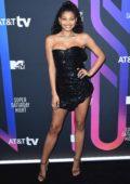 Danielle Herrington attends the AT&T TV Super Saturday Night in Miami, Florida