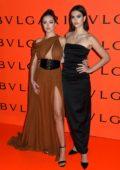 Delilah Hamlin and Amelia Hamlin attend as Bvlgari Celebrates B.zero1 Rock Collection in Brooklyn, New York City
