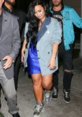 Demi Lovato seen leaving the E11EVEN Nightclub in Miami, Florida
