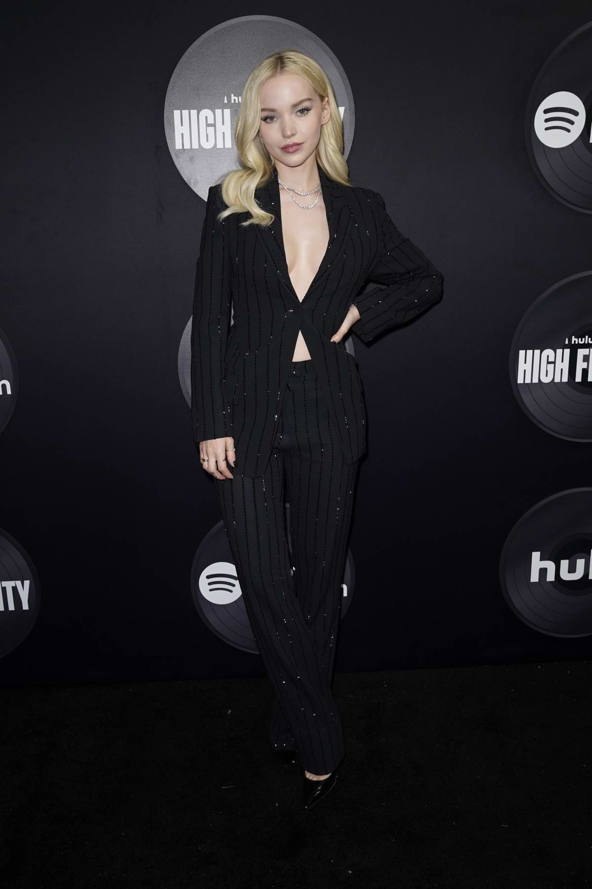 Dove Cameron attends the Premiere of Hulu's New Dramedy Series 'High Fidelity' in New York City