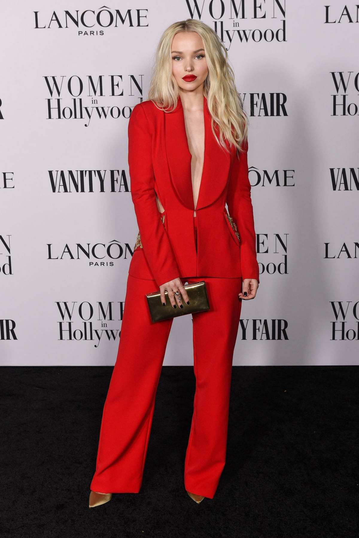 Dove Cameron attends the Vanity Fair and Lancome Women in Hollywood Celebration in West Hollywood, California