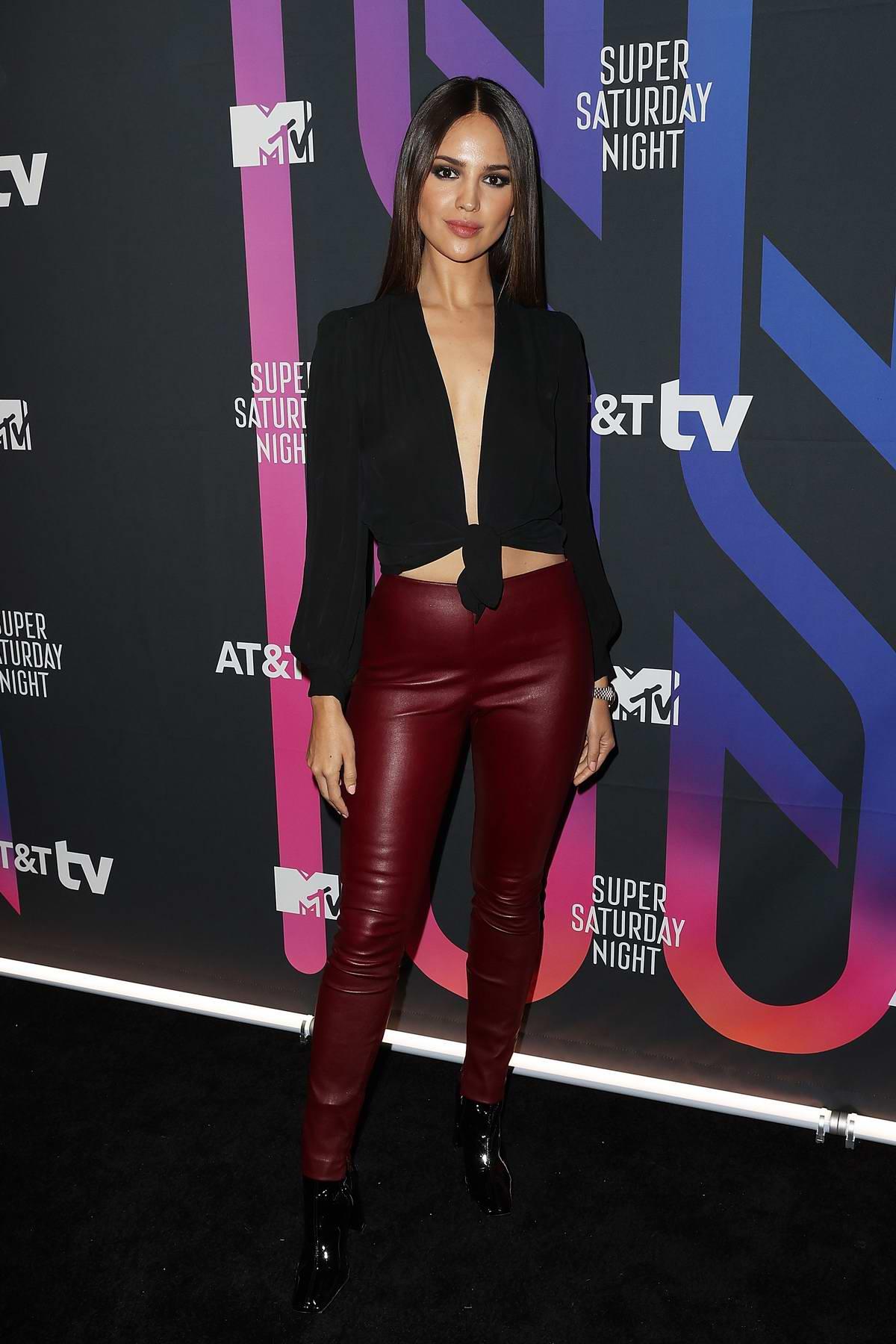 Eiza Gonzalez attends the AT&T TV Super Saturday Night in Miami, Florida
