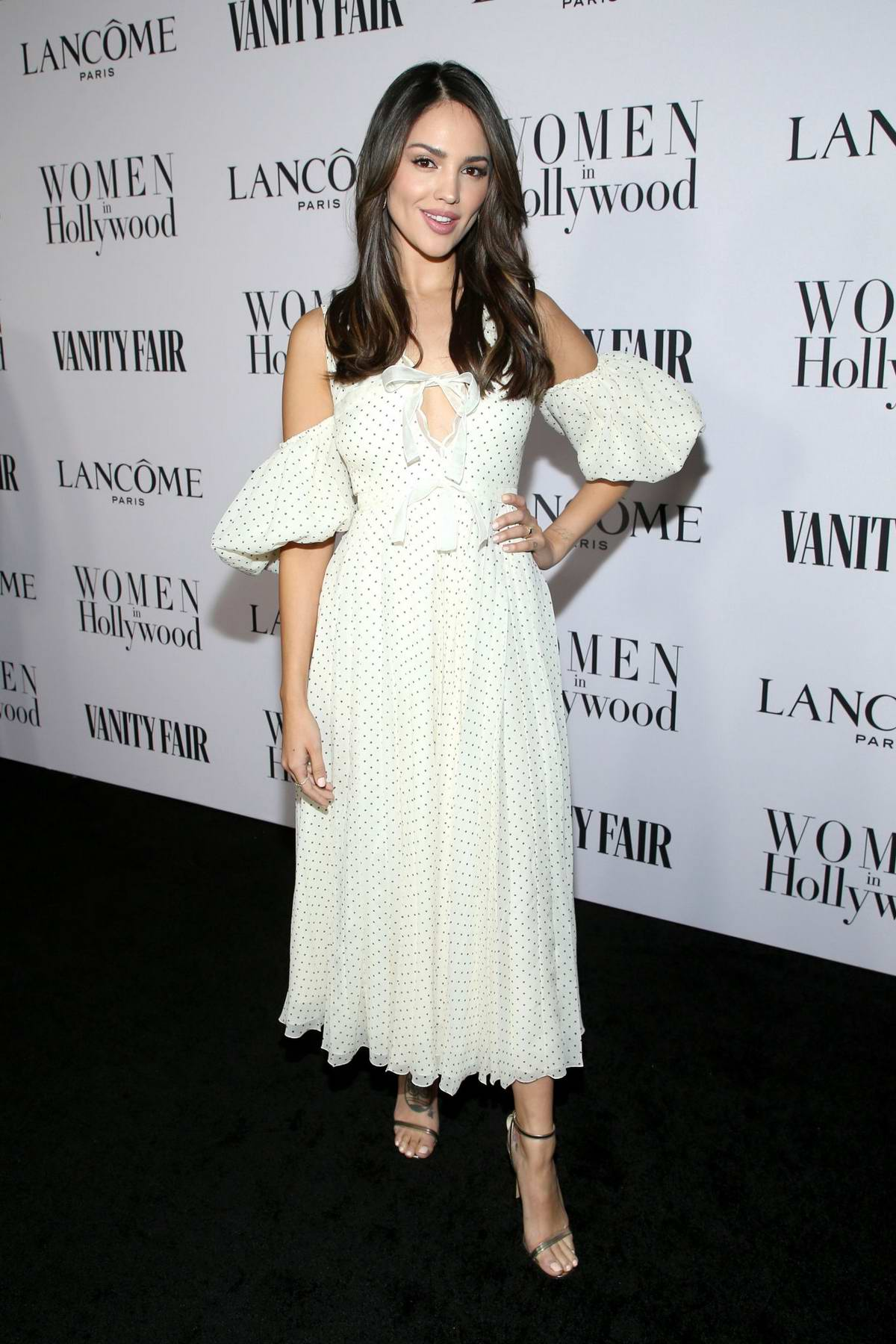 Eiza Gonzalez attends the Vanity Fair and Lancome Women in Hollywood Celebration in West Hollywood, California