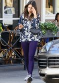 Eiza Gonzalez steps out makeup free to Josephine's Bakery in Sherman Oaks, California