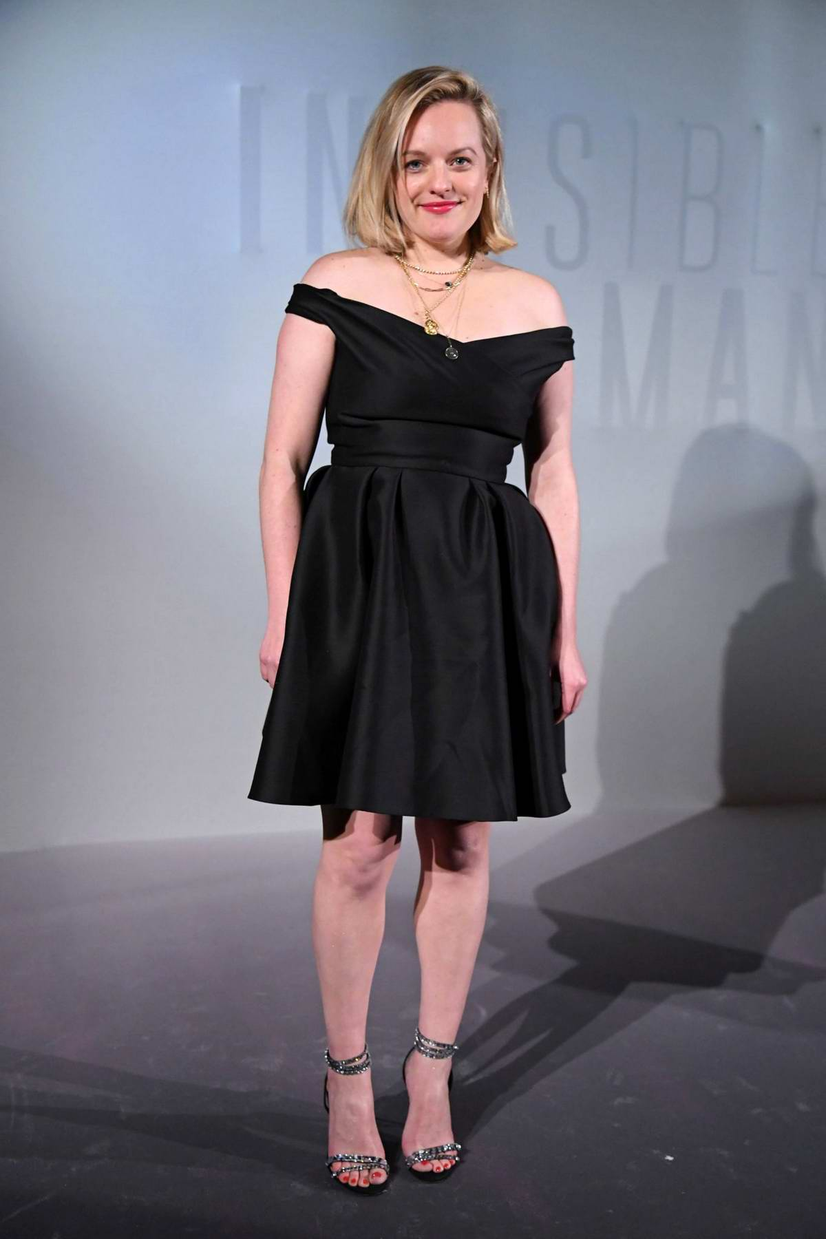 Elisabeth Moss attends the Premiere of 'The Invisible Man' in Paris, France