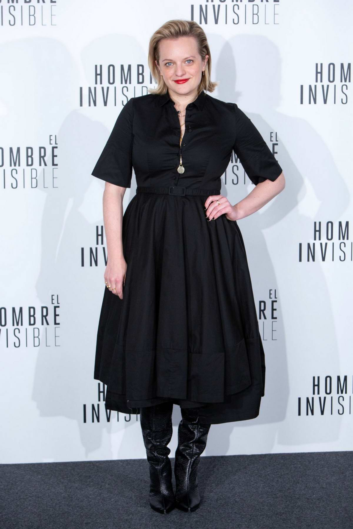 Elisabeth Moss attends the Premiere 'The Invisible Man' in Madrid, Spain
