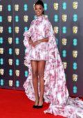 Ella Balinska attends the 73rd EE British Academy Film Awards at Royal Albert Hall in London, UK