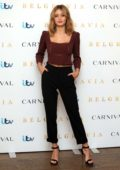 Ella Purnell attends 'Belgravia' Photocall in London, UK