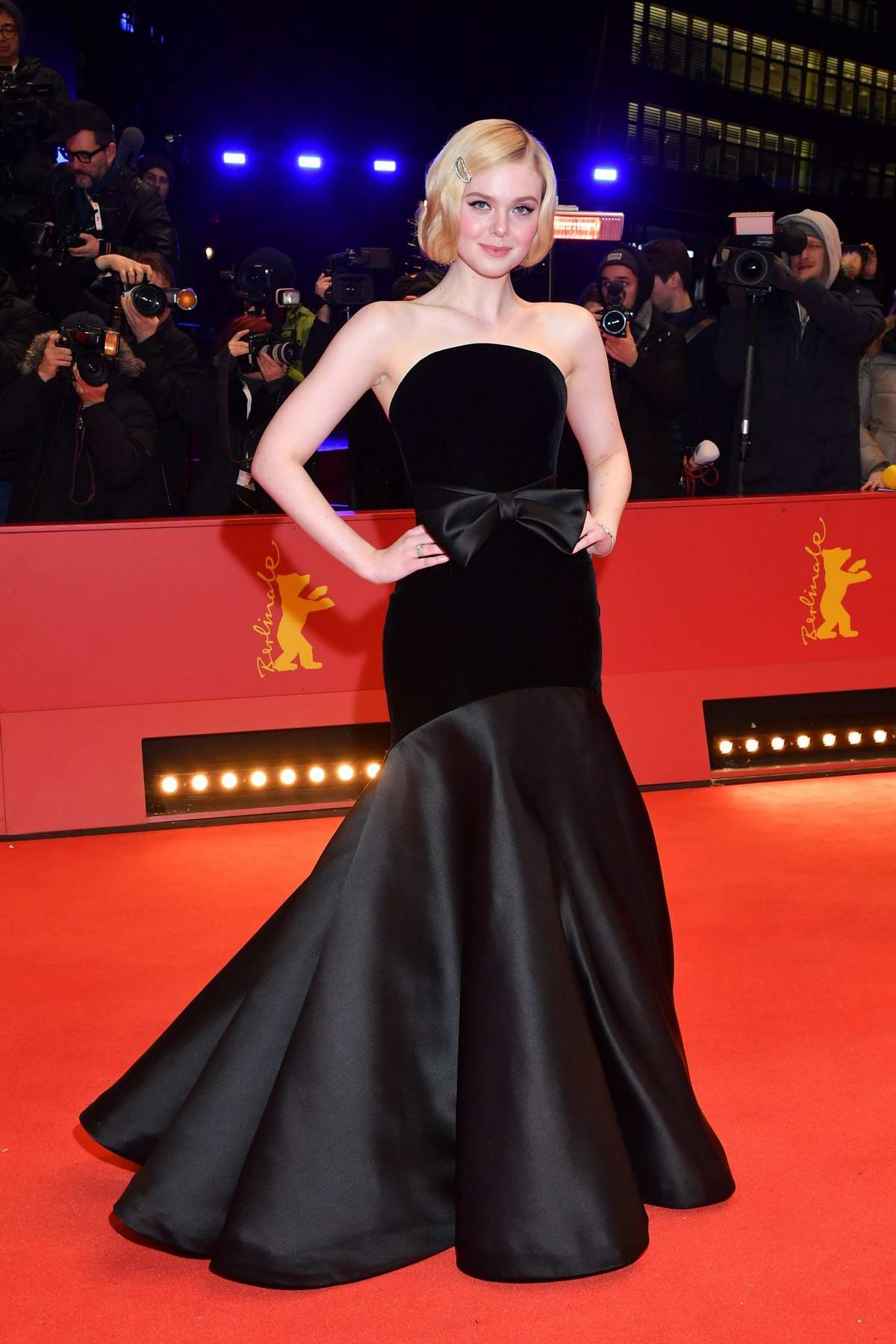 Elle Fanning attends the Premiere of 'The Roads Not Taken' during 70th Berlinale Film Festival in Berlin, Germany