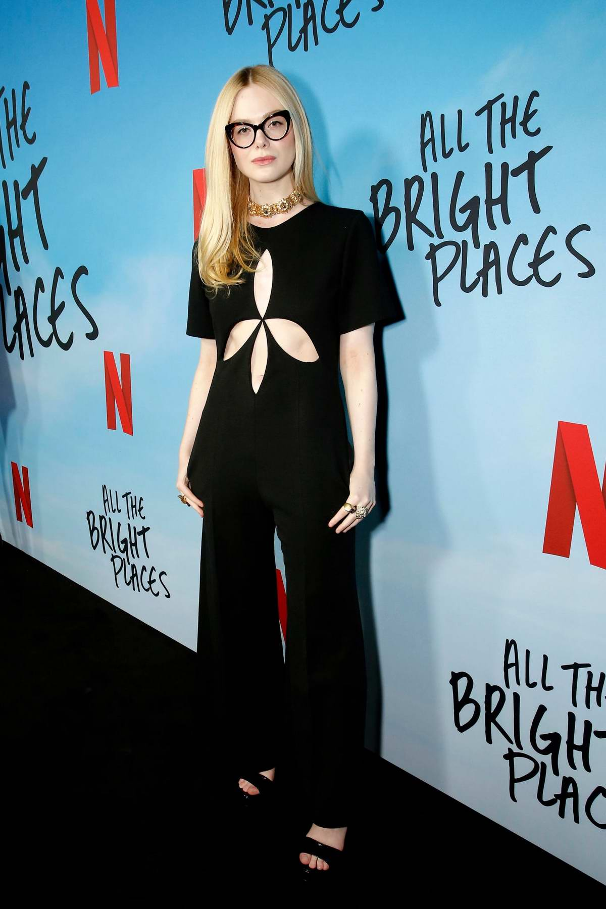 Elle Fanning attends the Special Screening of Netflix's 'All The Bright Places' at ArcLight Hollywood in Hollywood, California