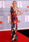 Ellie Goulding attends the BRIT Awards 2020 at The O2 Arena in London, UK