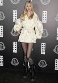 Elsa Hosk attends the Moncler show during the Milan Fashion Week 2020 in Milan, Italy