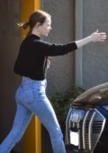 Emma Stone and Dave McCary seen after a workout session in Los Angeles