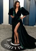 Freida Pinto attends the 2020 Vanity Fair Oscar Party at Wallis Annenberg Center for the Performing Arts in Los Angeles