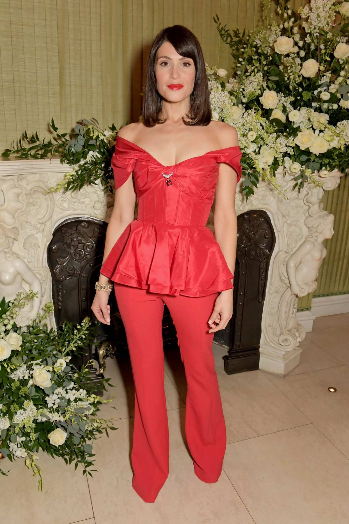 Gemma Arterton attends BAFTA 2020 Vogue x Tiffany Fashion and Film after-party in London, UK