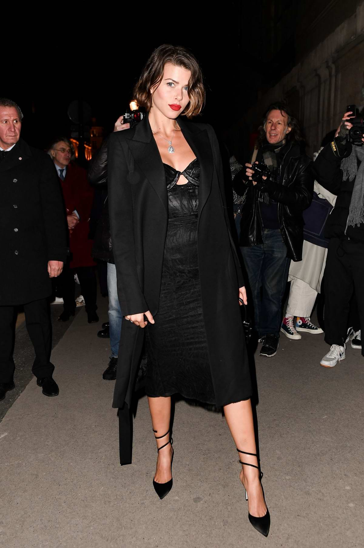 Georgia Fowler attends the Harper's Bazaar gala during Paris Fashion Week 2020 in Paris, France