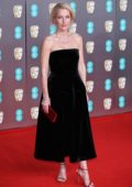 Gillian Anderson attends the 73rd EE British Academy Film Awards at Royal Albert Hall in London, UK