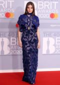 Hailee Steinfeld attends the BRIT Awards 2020 at The O2 Arena in London, UK