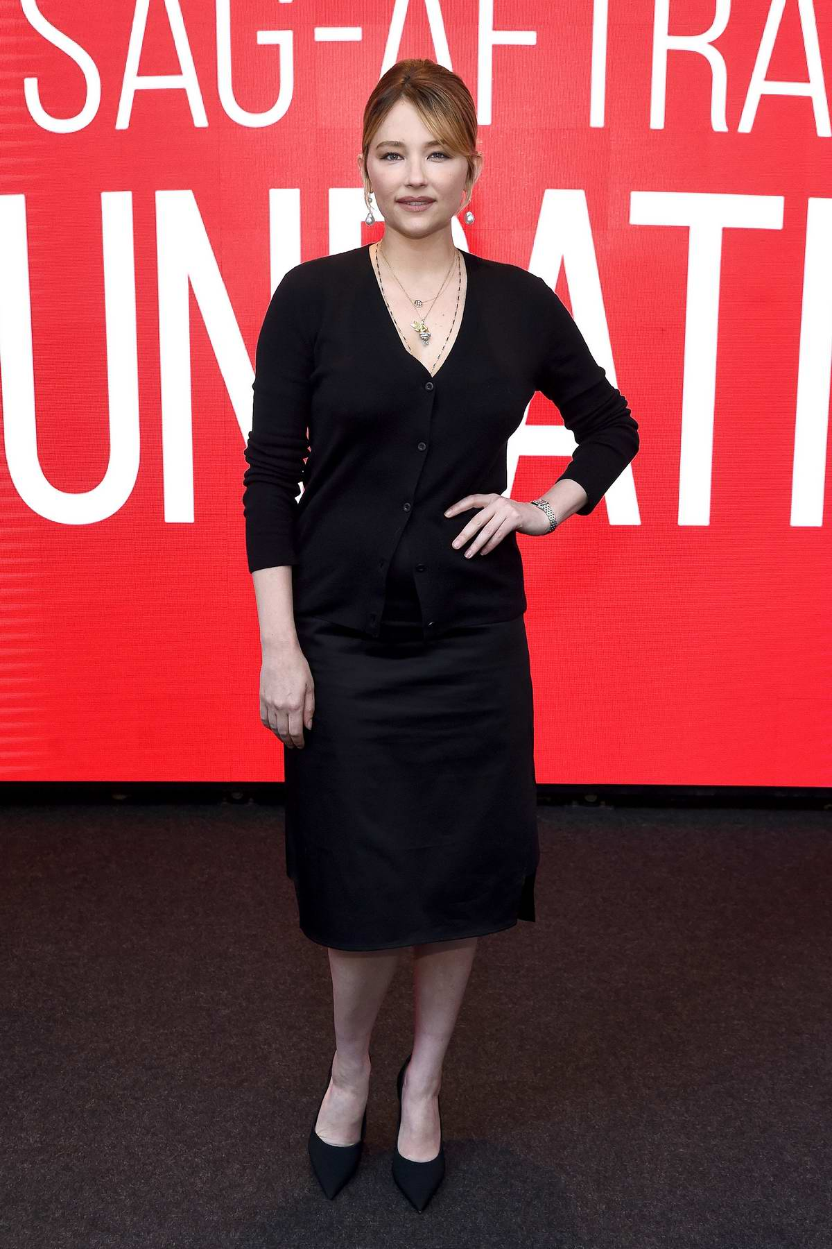 Haley Bennett attends the SAG-AFTRA Foundation Conversations: 'Swallow' in New York City