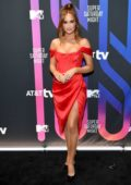 Haley Kalil attends the AT&T TV Super Saturday Night in Miami, Florida