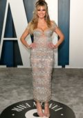 Heidi Klum attends the 2020 Vanity Fair Oscar Party at Wallis Annenberg Center for the Performing Arts in Los Angeles
