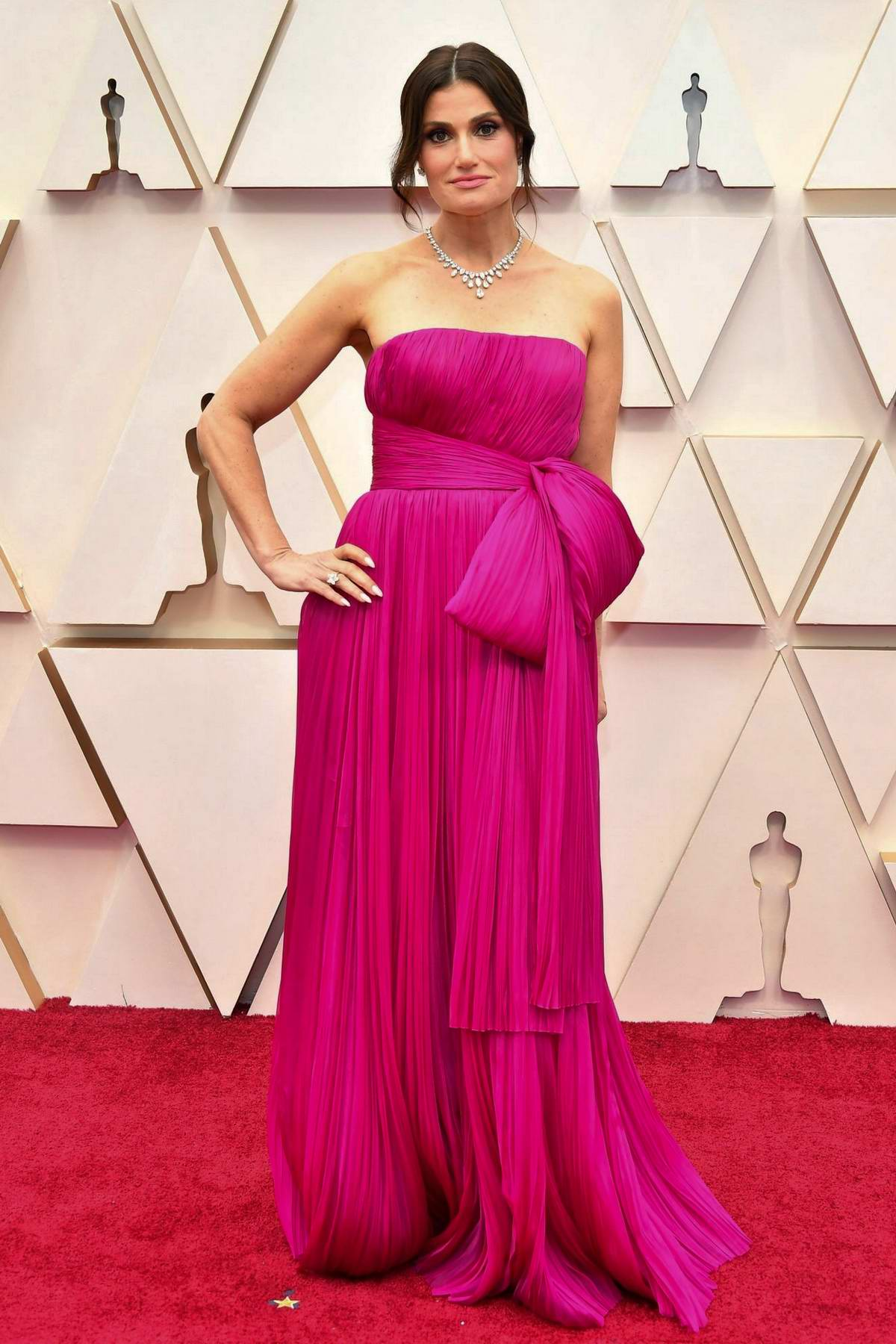 Idina Menzel attends the 92nd Annual Academy Awards at Dolby Theatre in Los Angeles