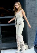 Josephine Skriver looks gorgeous while posing for a 'Maybelline' photoshoot in Manhattan, New York City